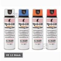 Kreidespray -trig-a-cap temporary-, 500 ml, kurzfristig, VE 12 Stück