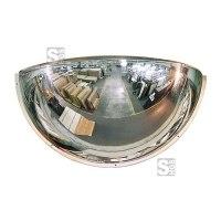 Kugelspiegel Volum aus Polymir® oder Plexiglas (PMMA), 1 / 4 Kugel, 3 Blickrichtungen