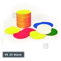 Lagerplatzkennzeichnung -Ronden-, VE 25 Stück, für Innenbereich, Ø 50, 75 und 100 mm