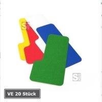 Lagerplatzkennzeichnung -WT-5112 L-Stücke-, VE 20 Stück, für Innenbereich, Breite 50 und 75 mm