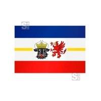 Landesflagge Mecklenburg Vorpommern, Stoffqualität FlagTop 110 g / m² oder 160 g / m², 60 x 90 bis 400 x 150 cm
