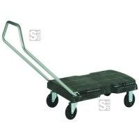 Lastenwagen -Triple Trolley- Rubbermaid, Tragfähigkeit 181 kg, aus PE