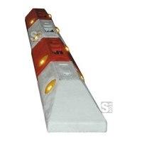 Leitborde / Schwalbenschwanz -Town- aus Recyclingmaterial, Länge 750 mm, Höhe 200 mm, BASt-geprüft