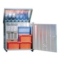 Magazinbox -STMB 2-, 1420 x 1080 x 1470 mm mit Bodenplatte