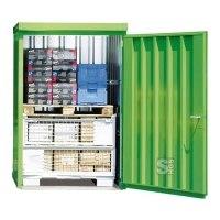 Magazinbox -STMB 8- 1420 x 1490 x 2195 mm ohne Boden