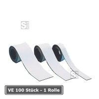Magnetfolie -Permaflex- zur Regalbeschriftung, VE 100 Stück oder Rollenlänge 15 Meter
