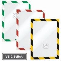 Magnetrahmen -Duraframe-, VE 2 Stück, selbstklebend, zweifarbig, Format DIN A4