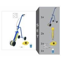 Markiergerät -PROline-paint- Komplett-Set, mit Markierfarbe PROline-paint, Strichbr. 50 bis 75 mm