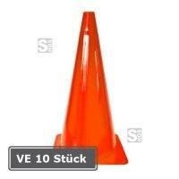Markierungskegel -Dribble-, VE 10 Stück, PVC, Höhe 370 mm, orange