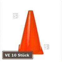 Markierungskegel -Racy-, VE 10 Stück, PVC, Höhe 230 mm, orange