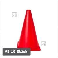 Markierungskegel -Racy-, VE 10 Stück, PVC, Höhe 230 mm, rot