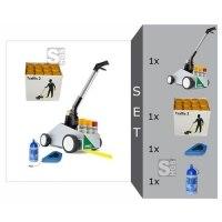 Markierwagen -Perfekt Striper- Komplett-Set, inkl. Farbe -Traffic2- (hohe Deckkraft)
