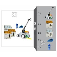 Markierwagen -Perfekt Striper- Komplett-Set, inkl. Farbe -Traffic 2- und Spezial Versiegelungslack -Traffic Protektor-