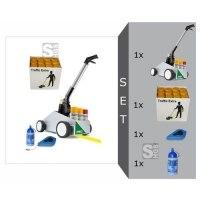 Markierwagen -Perfekt Striper- Komplett-Set, inkl. Farbe -Traffic Extra- (extrem hohe Deckkraft)