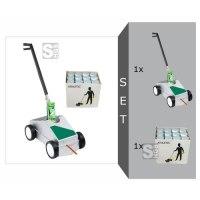 Markierwagen -Sport Striper- Komplett-Set, inkl. Sportplatz-Markierfarbe -Athletic-