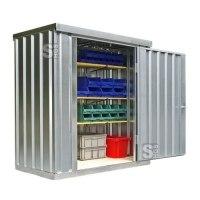 Materialcontainer -STMC 1100-, ca. 2 m², wahlweise mit Holzfußboden