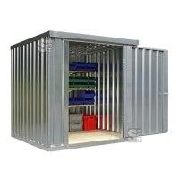 Materialcontainer -STMC 1200-, ca. 4 m², wahlweise mit Holzfußboden