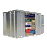 Materialcontainer -STMC 1300-, ca. 6 m², wahlweise mit Holzfußboden