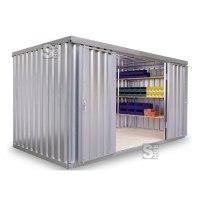 Materialcontainer -STMC 1400-, ca. 8 m², wahlweise mit Holzfußboden