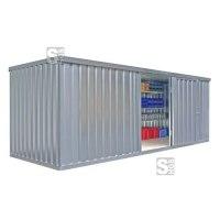 Materialcontainer -STMC 1600-, ca. 12 m², wahlweise mit Holzfußboden