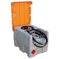 Mobile Dieseltankanlage -CEMO DT-Mobil Easy- aus Polyethylen, 200 oder 600 Liter, wahlweise mit Klappdeckel, mit ADR-Zulassung