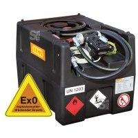Mobile Kraftstofftankanlage -CEMO KS-Mobil Easy-, 120 oder 190 Liter, nach ADR, ATEX-Zulassung