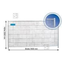 Mobilzaun / Bauzaun -Secure- engmaschig, Höhe 2,00 m MW 160 / 30, Standrohre Ø 40 mm