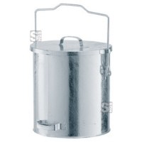Mülleimer -State Denver- mit Gleitdeckel und Tragegriff - 20, 30 oder 40 Liter