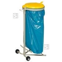 Müllsackständer -Cubo Bartoli- 120 Liter aus Stahl, fahrbar