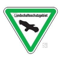 Natur- und Umweltschutzschild -Landschaftsschutzgebiet-
