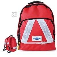 Notfallrucksack -Small-, wahlweise mit Inhalt nach DIN 13157, 300 x 200 x 180 mm