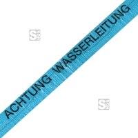 Ortungsband, Breite 40 mm, Länge 250 m, wahlweise Wasserleitung (blau) oder Gasleitung (gelb)