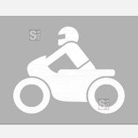 PREMARK Straßenmarkierung aus Thermoplastik -Sonderzeichen Motorrad-