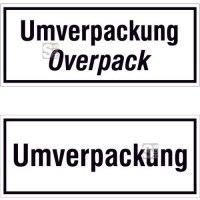Verpackungskennzeichnung