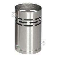 Papierkorb -Cubo Chico- 14 Liter aus Edelstahl