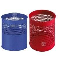 Papierkorb -P-Bins 28- 10, 15 oder 30 Liter aus Stahl, gelocht
