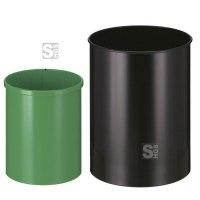 Papierkorb -P-Bins 30- 15 oder 30 Liter aus Stahl