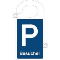 Parkausweis aus Kunststoff