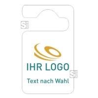 Parkausweis mit individuellem Logo/ Text und Farbe nach Wahl