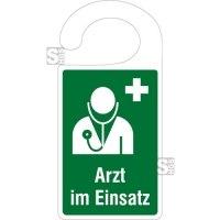 Parkausweisanhänger, Arzt im Einsatz