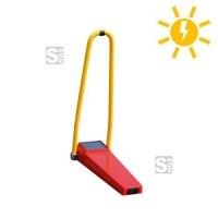 Parkplatzsperre -Protector- inkl. Handsender, wahlweise mit Akku- oder Solarbetrieb