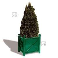 Pflanzbehälter -Bowl- aus Stahl