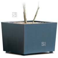Pflanzbehälter -Flora- aus Stahl