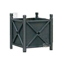 Pflanzbehälter -Trend- aus Stahl