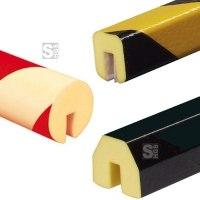 Profilschutz -Protect- Knuffi® aus PU, Länge 1000 mm, verschiedene Profile, wahlweise selbstklebend oder zum Aufstecken, extrem abriebfest