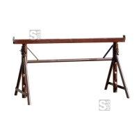 Putzergerüstbock -Combi N-, Breite 1,10 m, höhenverstellbar 0,55 - 0,9 m