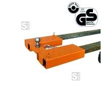 Rangierhilfe -R2121- für Anhänger mit Kugel-Kupplung oder PKW-Anhänger, lackiert oder verzinkt