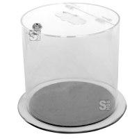 Recyclingbehälter -Pro 6-, 12 oder 37 Liter aus Acrylglas