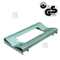 Regal-Fasspalette -R2262- aus Stahl, Tragkraft 300 kg, 580 x 130 x 1120 mm, GS-geprüft