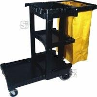 Reinigungswagen -Capacity- Rubbermaid inkl. 75 Liter Vinylsack